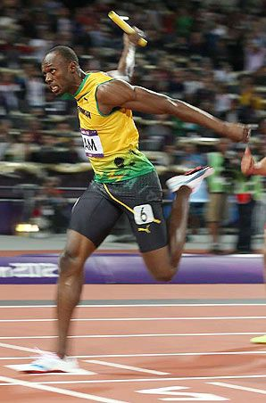 Usain Bolt -London Olympic- 4x100