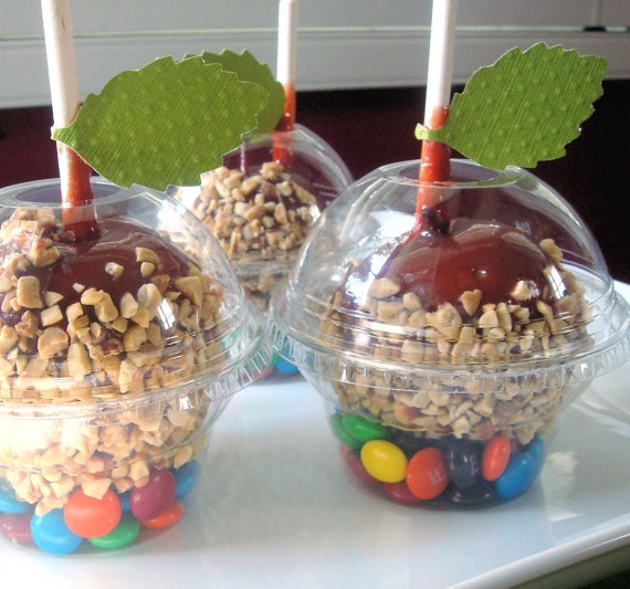 Candy Apple Holders Cupcake Boxes by PoshBoxCouture on Etsy, $6.00