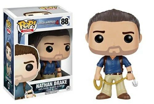 Nathan Drake - Uncharted 4: A Thief's End  Funko Pop!