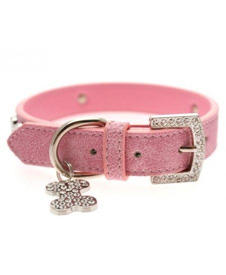 Collar Sintético Pink Diamond
