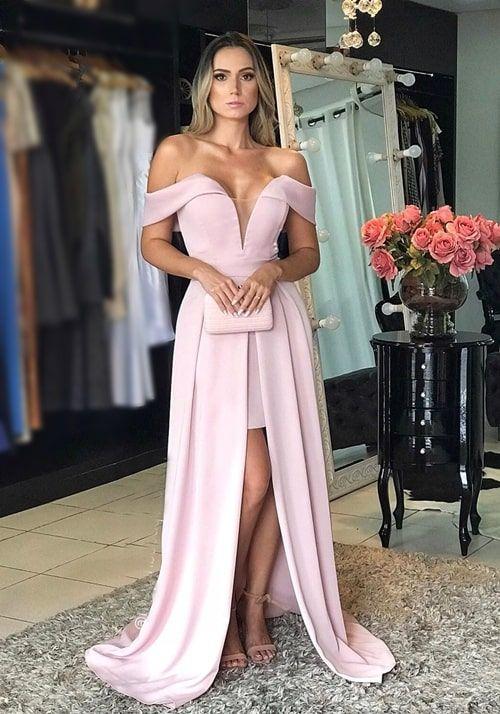 Inspiração: vestidos rosa para madrinhas! | Dresses, Prom dresses, Fashion