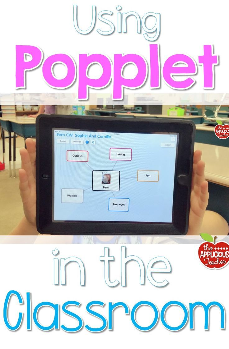 The easy teacher's guide for using Popplet in the classroom this year. One simple app that will change your opinion of technology in the classroom for good!
