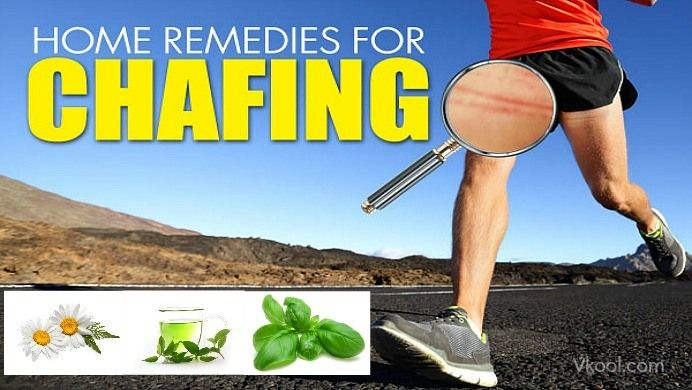 14 Natural home remedies for chafing skin