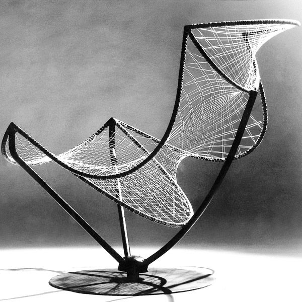 Luciano Grassi, Sergio Conti and Marisa Forlani, Chair for Paoli, 1955.