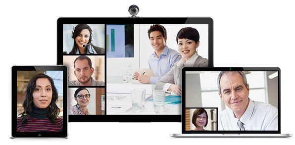 #videoconferencing is a simple and powerful way to collaborate in real time
