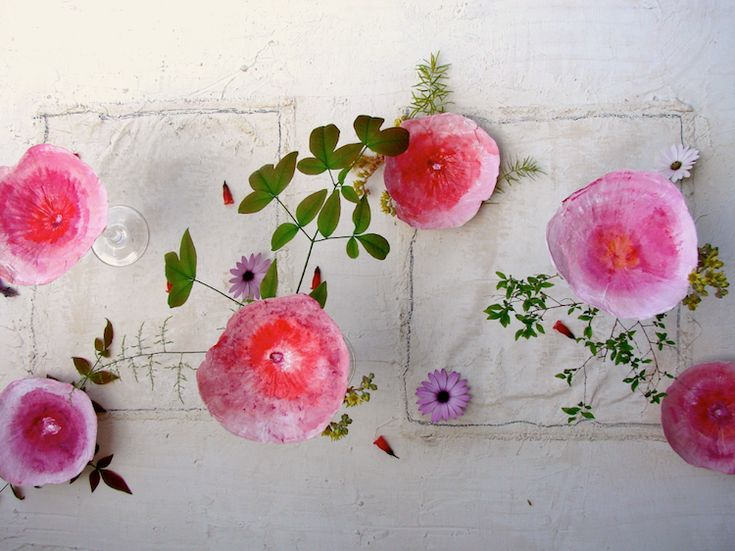 matrimonio-eco friendly-green-boho-country-fiori-carta-grandi-wedding-paper flowers