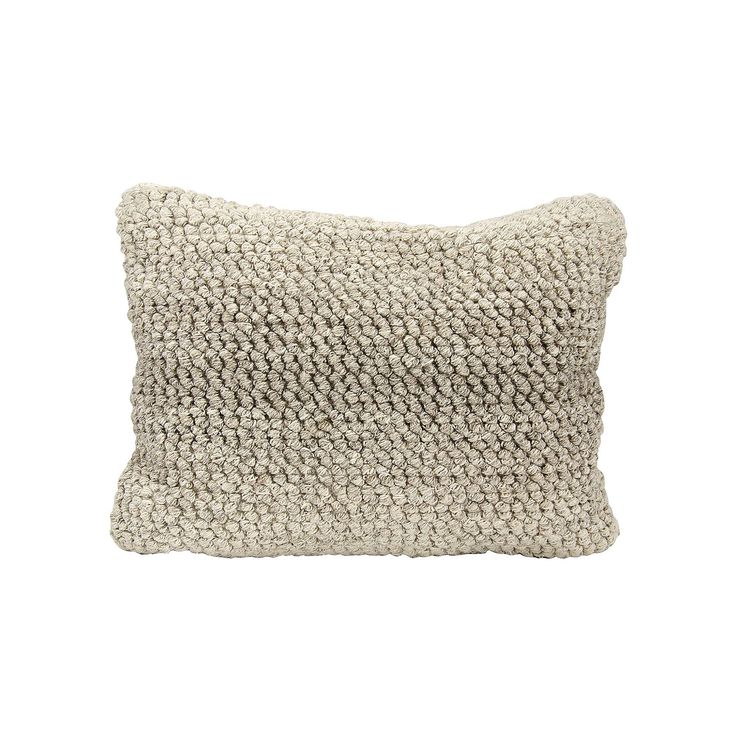 Joseph Abboud Ombre Loop Oblong Throw Pillow, Grey