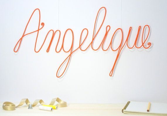 minimalist nursery decor baby room wall decor name sign for