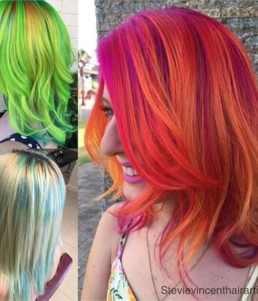 How-To: Rainbow Pastels - Hair Color - Modern Salon