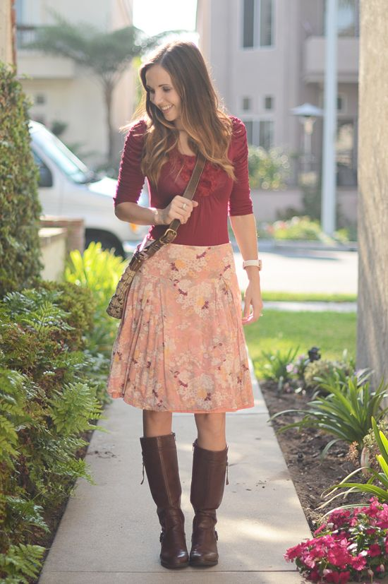 10+Ways+to+Wear+Your+Boots+This+Fall+(and+15+Tips+to+Keep+Those+Outfits+Balanced)