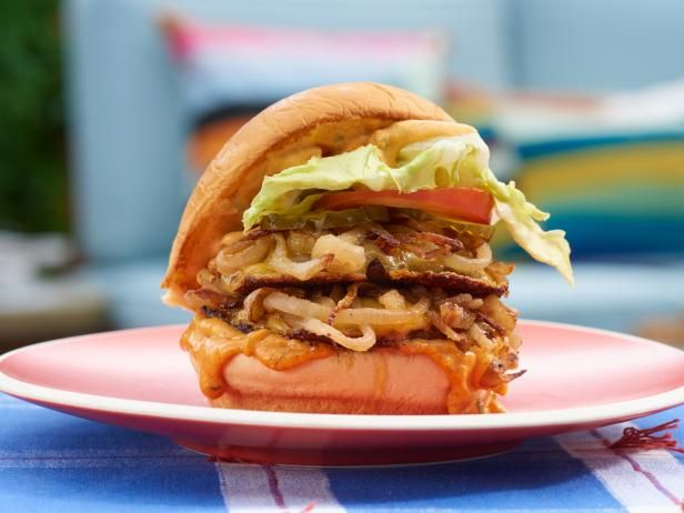 Beastie Burger   Recipe in 2019   food network: the kitchen
