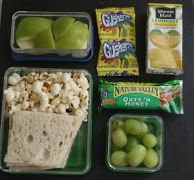 Easy sack lunch ideas for kids I'm going to need this in a year!!!