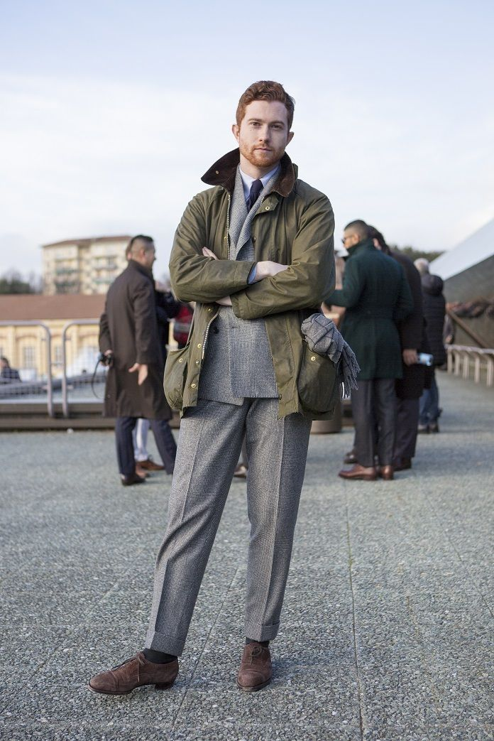 PITTI SNAP by BEAMS 2016AW アウター コート編   ELEMENTS OF STYLE