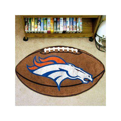 FANMATS NFL - Denver Broncos Football Mat