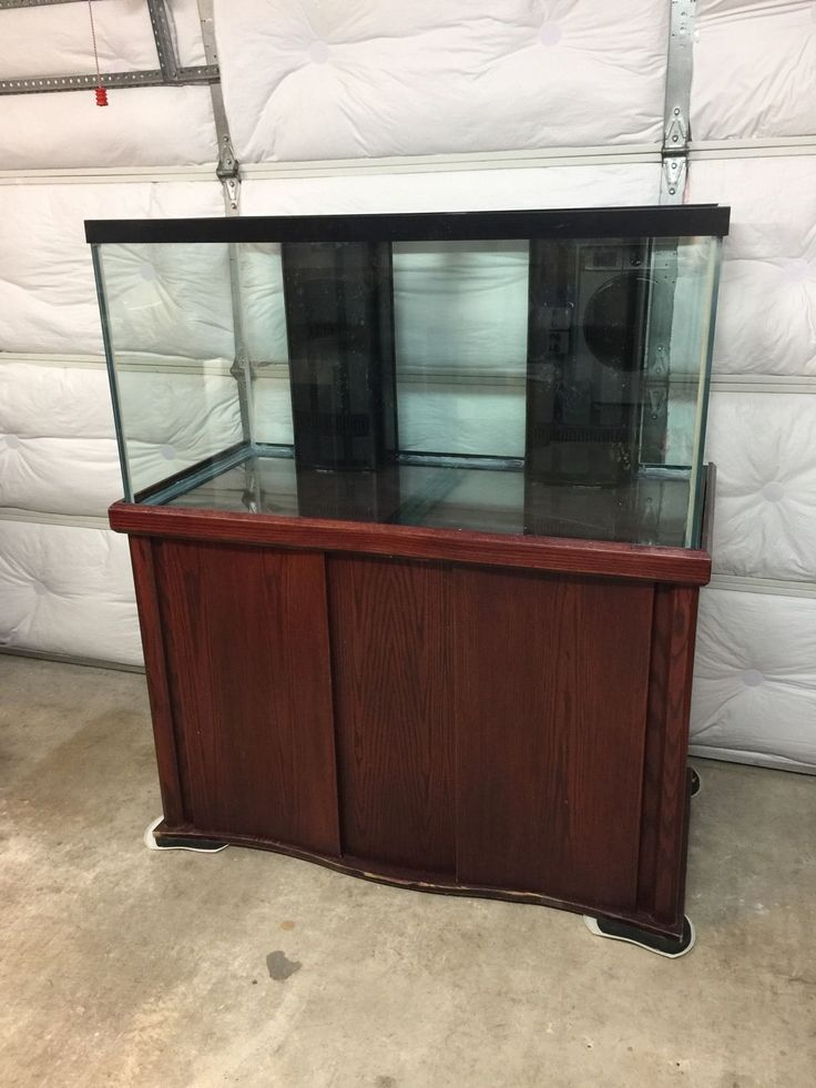 120 Gallon All-Glass Fish Tank Aquarium With Stand
