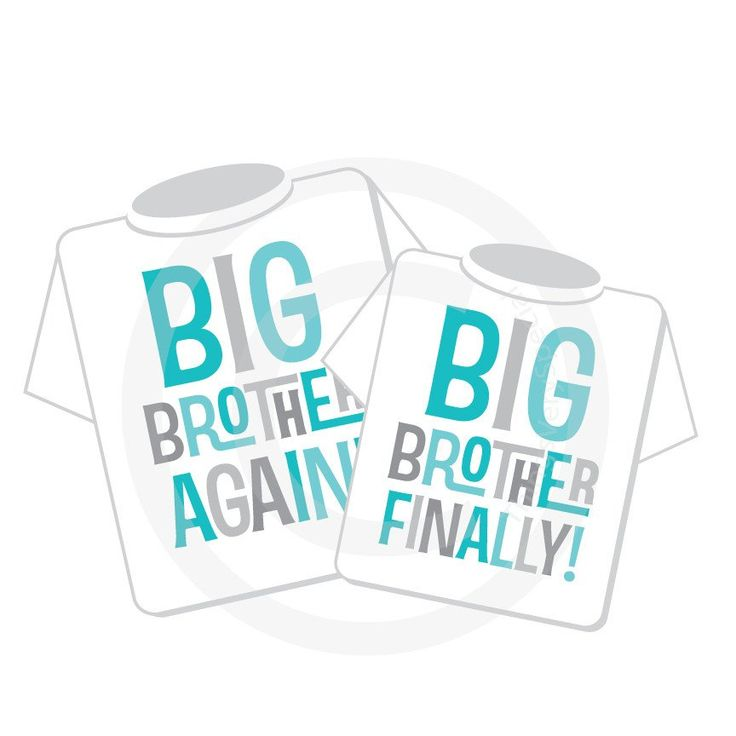 Set of two - Sibling Big Brother Again and Big Brother Finally tee shirt or Onesie - Pregnancy Annoucnement 04022015c