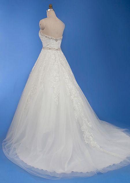 262 best Disney Wedding Dresses images on Pinterest   Alfred angelo ...