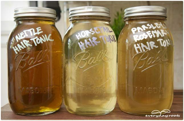 3 Amazing Homemade Hair Tonics for Strong, Healthy and Shiny Hair. These homemade hair tonics might be your saving grace to have a healthy head of hair with a healthy, flake-free scalp...