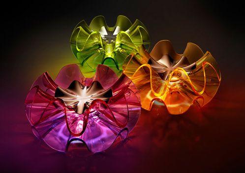 Flamenca Light inspired by the movement of a flamenco dancer's ruffled skirt