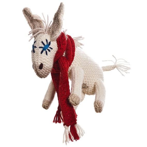 UGHINA female little donkey friend of children  wool di ZOODILANA, €91,00