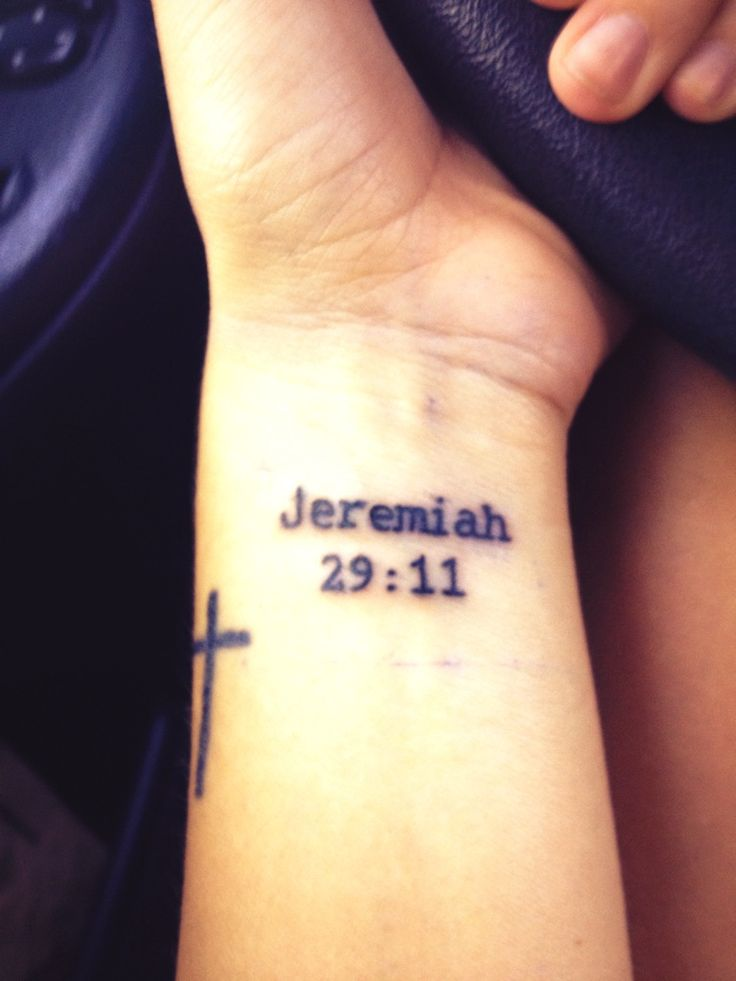 jeremiah 29 11 tattoo next to my cross inked pinterest love this crosses and the lord. Black Bedroom Furniture Sets. Home Design Ideas