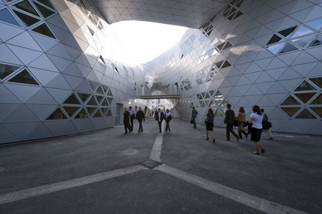 Massimiliano and Doriana Fuksas- Lycée Georges Frêche