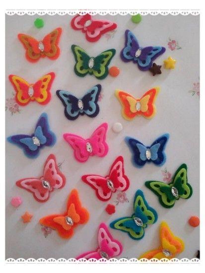 Aplikasi Flanel Kupu-kupu besar Crafters yang butuh flanel potong bentuk kupu-kupu, silakan mampir ke link di bawah ini ya. Di tokopedia kami dijual aneka