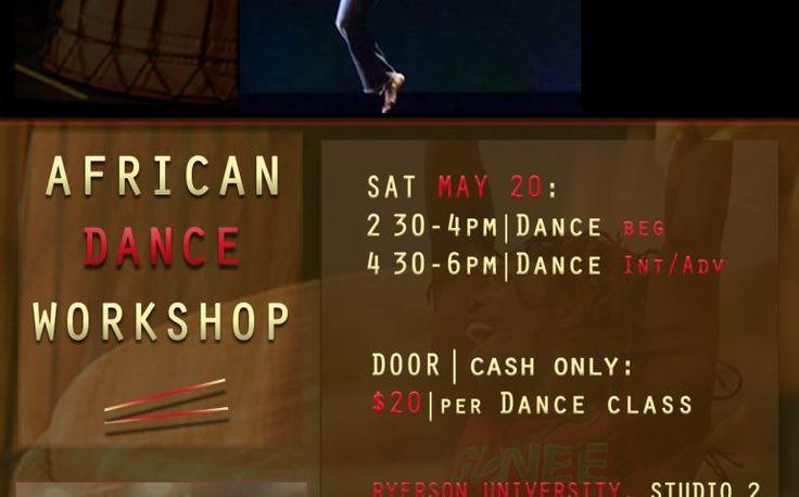 African Dance Workshops With Fara Tolno | TorontoDance.com