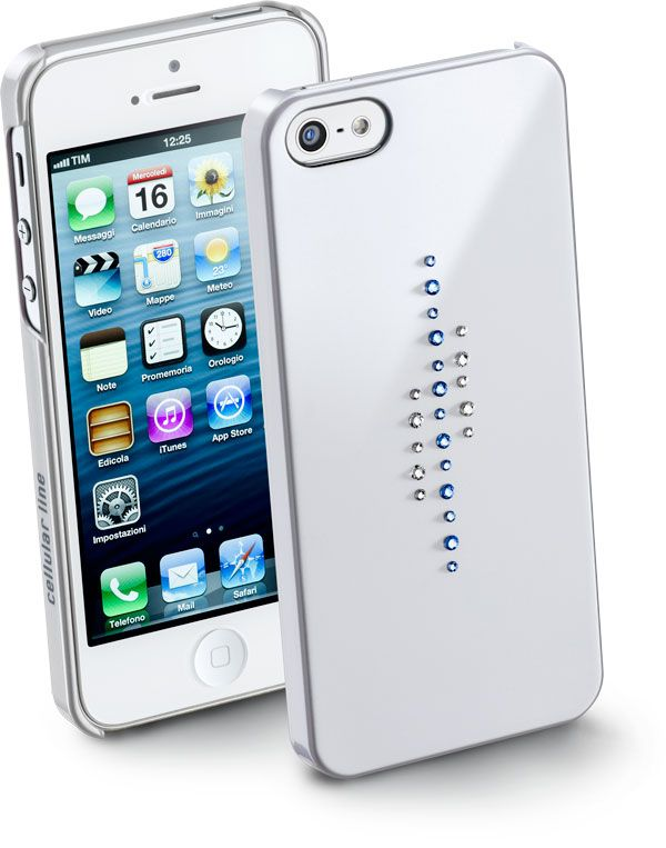LINES: pavé di cristalli dalle diverse tonalità #iPhone5