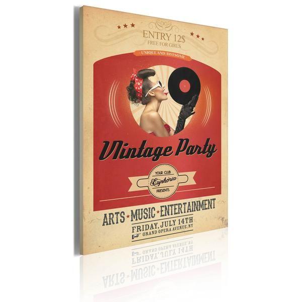 Quadro - Vintage party