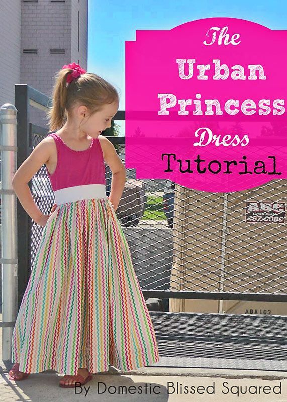 Guest Post: Urban Princess Dress Tutorial from Domestic Bliss Squared ^