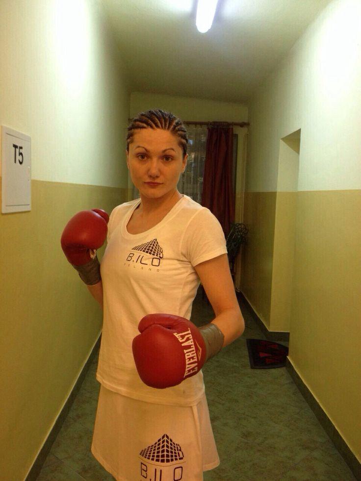 Ewa Brodnicka gotowa do walki :)