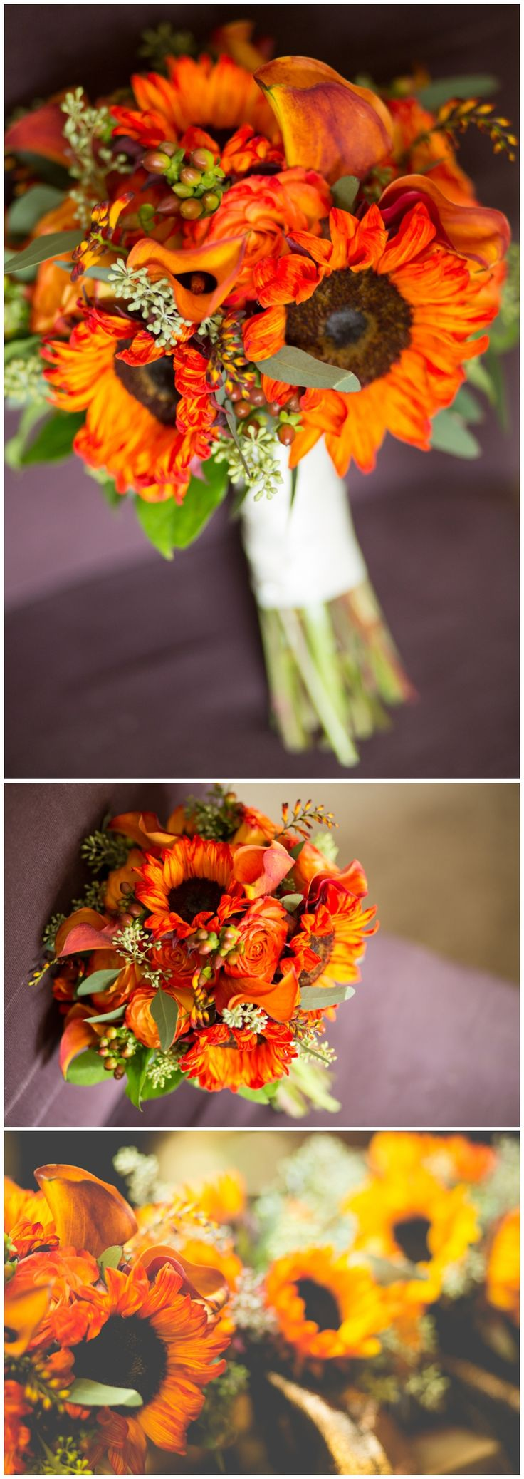 Fall, Sunflower Wedding Bouquet by Iza's Flowers, Inc.  www.weddibgsbyiza.com Photo by Brandi Image Photography