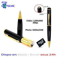 STYLO CAMERA ESPION HD 1280x960 (VIDEO, PHOTO, AUDIO) 32 GO MAX SPY PEN DVR