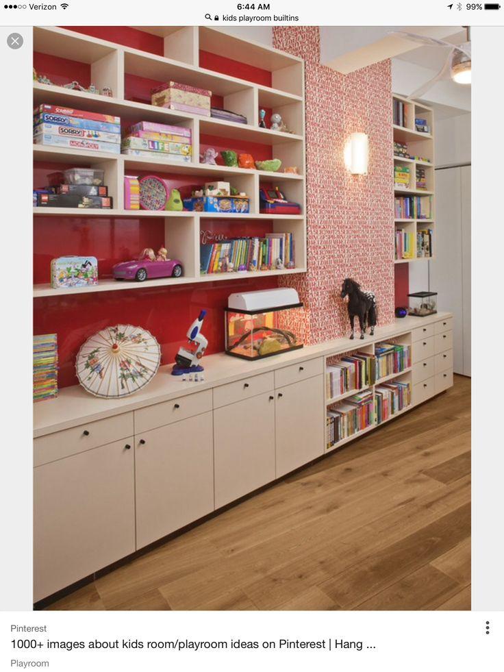 Mejores 10 imágenes de Storage -- playroom en Pinterest   Salas de ...