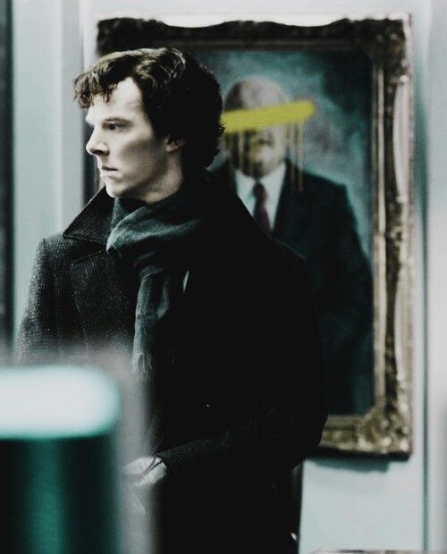 The Blind Banker... *whispers* lookit those cheekbones...such definition...
