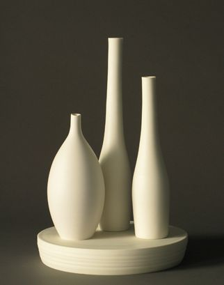 Lilith Rockett Studio potter Lilith Rockett started her career in ceramics in Los Angeles before moving to Portland. Her work, created by hand on the potter's wheel, reveals a deep interest in the subtle qualities of the material: translucency, fluidity, density, and the velvety softness of an unglazed polished surface. Minimal in both form and surface, her work calls attention to subtle nuances of line or shadow, with a delight in the quiet imperfections that characterize the handmade.