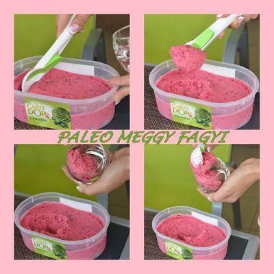 Diétás meggyes fagyi (paleo fagyi recept)