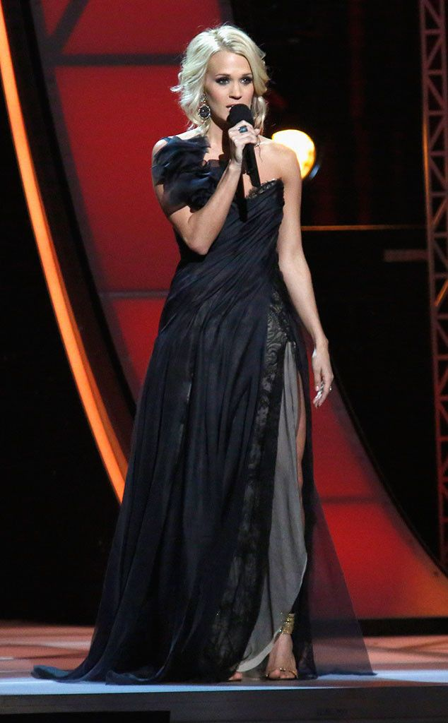 Vera Wang Evening Dresses That Carrie Underwood Has Worn