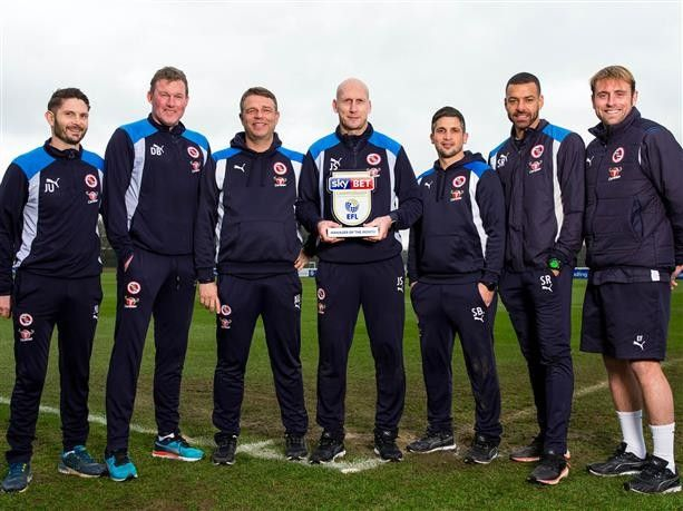 Reading boss Jaap Stam has been named the Championship Manager of the Month for January following an impressive run. In