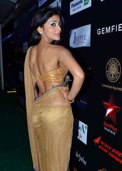 Shriya Saran Sexy Rear View