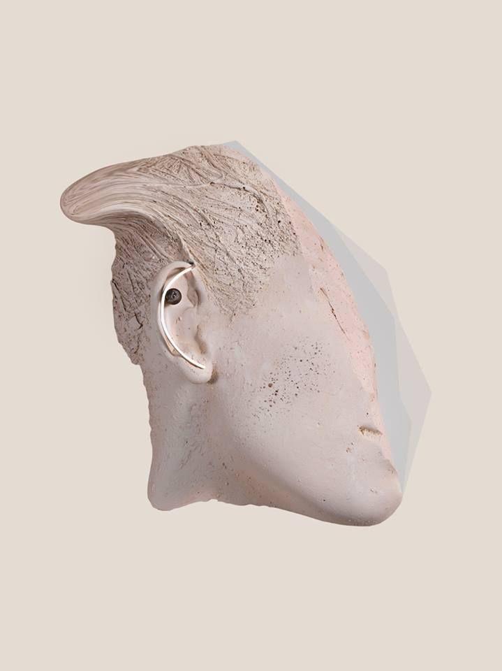 TAKK #earring #silver #black #onyx www.takk.pl