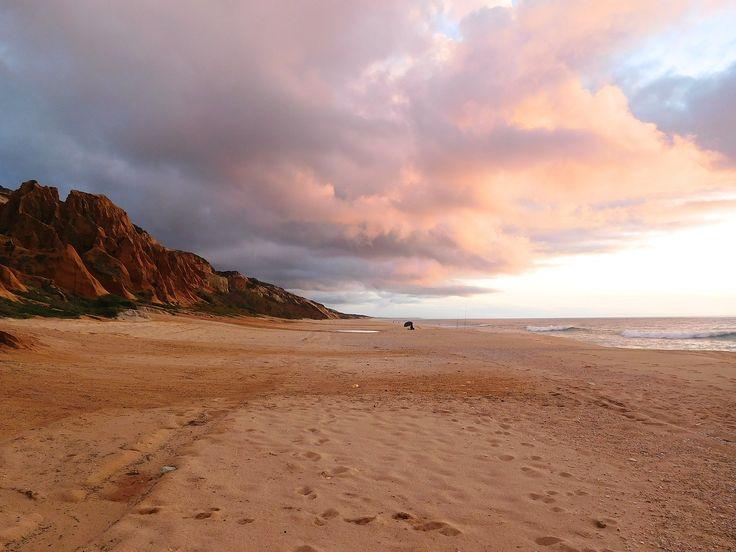 The endless beaches of Alentejo,  Portugal.
