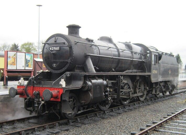 BR (LMS)  Stanier class 4  2-6-0