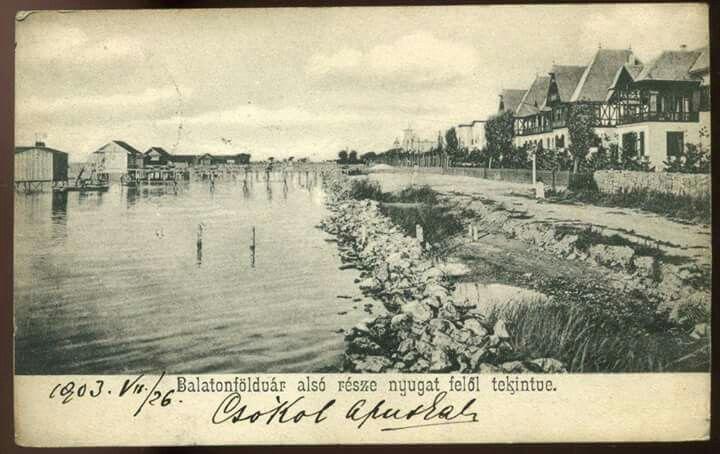 Balatonföldvár 1903.