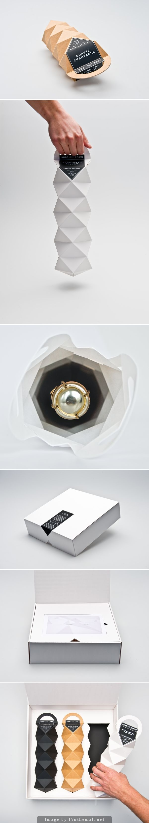 Quartz Champagne (Student Project) on Packaging of the World - Creative Package Design Gallery