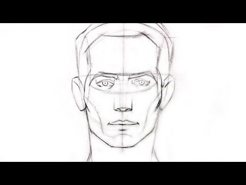 How to Draw the Head - Front View and Side View. Read full article: http://webneel.com/video/how-draw-head-front-view-and-side-view | more http://webneel.com/video/drawings | more videos http://webneel.com/video/animation | Follow us www.pinterest.com/webneel