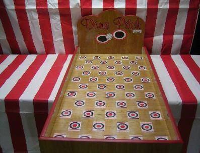Dime Pitch Carnival Game | DIY Carnival Games | Pinterest ...