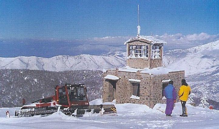 Φωτιά στο χιονοδρομικό κέντρο Λαϊλιά Σερρών