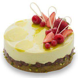 【職場の上司の誕生日祝い】ピスタチオのムースケーキ「デリス・ピスターシュ」 欧風菓子コートドール